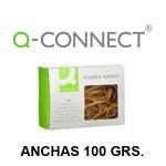 Q-CONNECT ANCHAS, CAJA DE 100 GRS. CON VENTANA