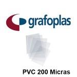 CON UÑERO EN PVC DE 200 MICRAS GRAFOPLAS EN FORMATOS VARIOS