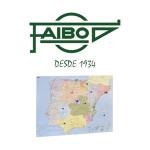 CON LA SUPERFICIE PLASTIFICADA, PRESENTADOS ENROLLADOS EN TUBO DE CARTÓN FAIBO
