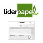 ALBARANES LIDERPAPEL EN FORMATO 8º APAISADO