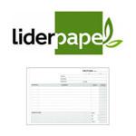 FACTURAS LIDERPAPEL EN FORMATO 4º APAISADO