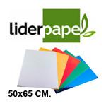 LIDERPAPEL EN FORMATO 50x65 CM. DE 235 GRS/M². COLORES METÁLIZADOS