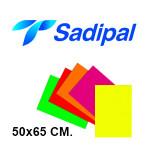 SADIPAL EN FORMATO 50x65 CM. DE 230 GRS/M². COLORES FLUORESCENTES
