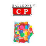 BALLOONS® CP REDONDOS DE LÁTEX 100%, COLORES SURTIDOS