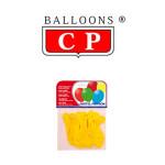 BALLOONS® CP REDONDOS DE LÁTEX 100%, COLORES PASTEL