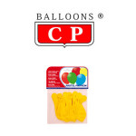 BALLOONS® CP REDONDOS, LÁTEX 100%, COLORES PASTEL