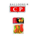 BALLOONS® CP REDONDOS, LÁTEX 100%, COLORES FLUORESCENTES