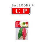 BALLOONS® CP REDONDOS, LÁTEX 100%, PUNCH BALL, COLORES SURTIDOS