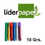 LIDERPAPEL, BLISTERS CON 6 UDS. DE 10 GRS.