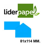 LIDERPAPEL EN FORMATO 81x114 MM.