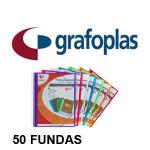50 FUNDAS + SOBRE CON CIERRE DE VELCRO