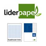 LOMO ENCOLADO, PERFORADO, CON TAPA LIDERPAPEL EN FORMATOS VARIOS, 4x4 S/M.