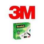 INVISIBLES 3M SCOTCH MAGIC 810