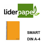 TAPAS BLANDAS LIDERPAPEL SERIE SMART EN FORMATO DIN A-4