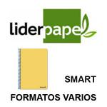TAPAS BLANDAS LIDERPAPEL SERIE SMART EN FORMATOS VARIOS